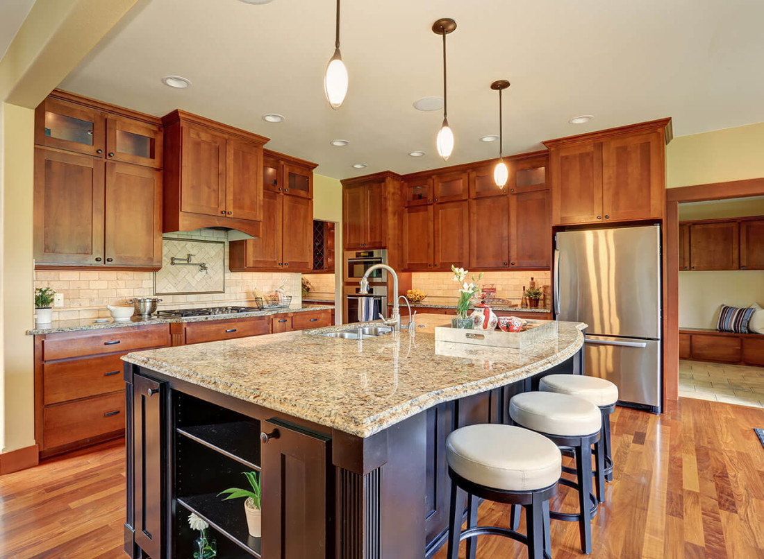 Kitchen Counter Top Designs Design Mesmerizing Kitchen Design Gallery  Great Lakes Granite & Marble Review