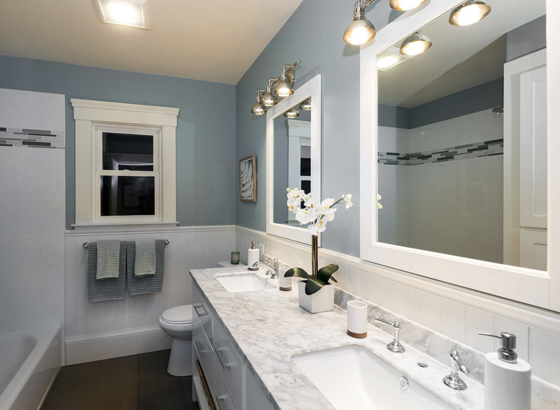 Superieur ... Granite Bathroom Countertop · White Carrera Marble Bathroom Countertop  ...