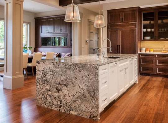 Bianco Antico Granite Kitchen Countertop