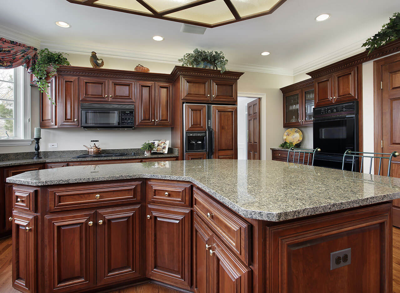 desert-brown-granite-kitchen-countertop
