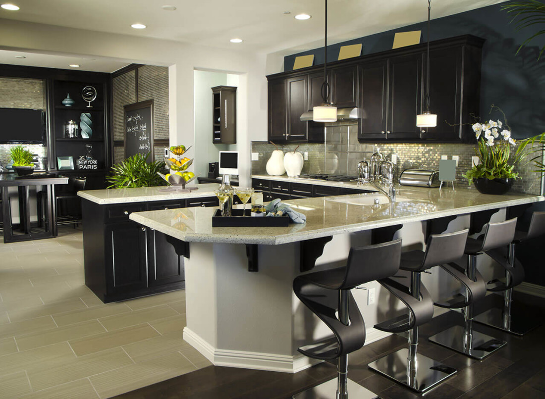 Kitchen design gallery great lakes granite marble for Kitchen design gallery photos