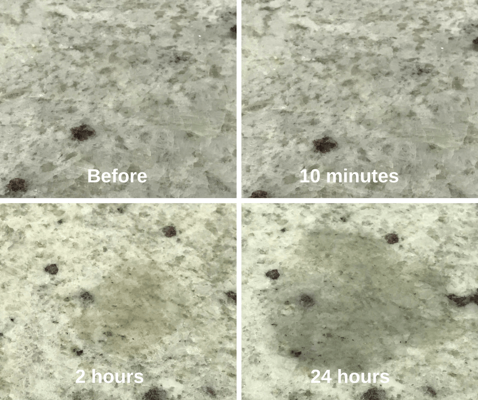 How To Get Water Stains Out Of Granite
